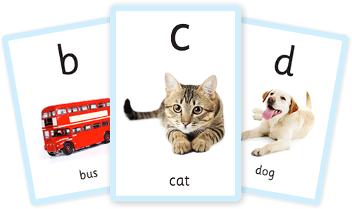 Free alphabet flashcards for kids totcards.