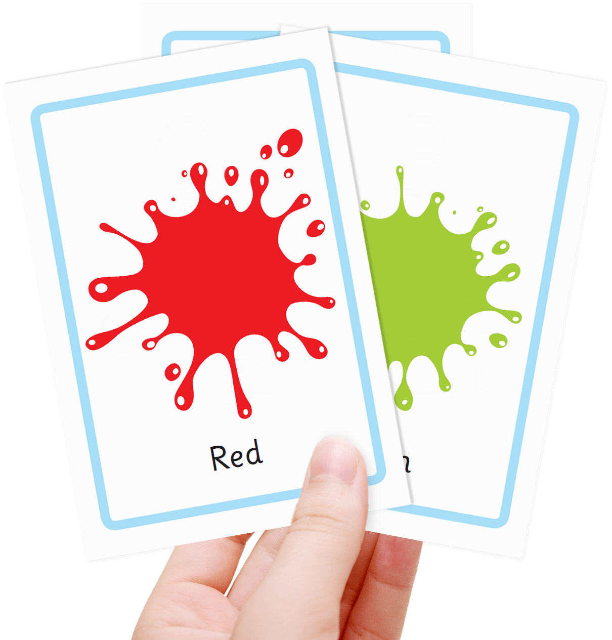 Free Colour Flashcards For Kids Totcards