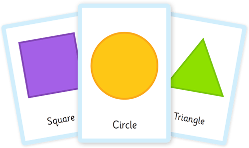 Shape flashcards